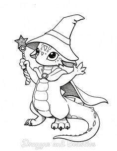 Inktober: Magic by DragonsAndBeasties.deviantart.com on @deviantART
