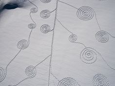 """Sonja Hinrichsen with """"Snow Drawings"""""""