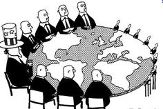 Na de dekolonisatie houden de VS en Europa veel economische macht in de ex-kolonie.