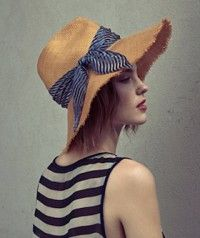 Eugenia Kim's perfect summer hats #r29summerstyle