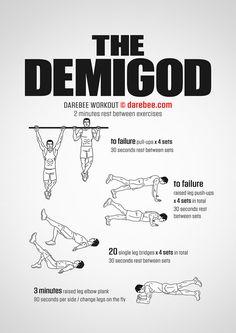 The Demigod Workout