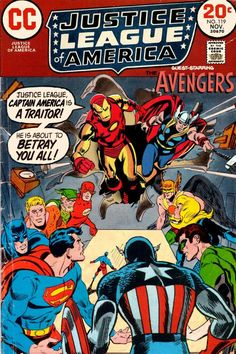 The Justice League and the Avengers Marvel Comic Universe, Comics Universe, Marvel Vs, Marvel Comics, Marvel Comic Books, Comic Book Heroes, Comic Books Art, Book Art, Gi Joe