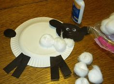 A Paper Plate Sheep Art Project for a Farm Unit