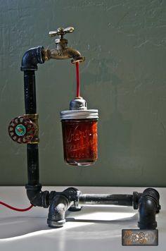 La  Sophia : Industriel / Steampunk style lampe de bureau