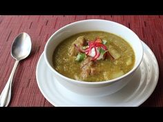 Food Wishes Video Recipes: Pork Chili Verde (Green Pork Chili) – Green and Sometimes Browned