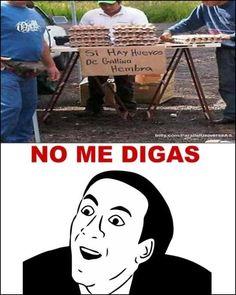 New memes graciosos no me digas Ideas Cute Memes, Crazy Funny Memes, Funny Jokes, 9gag Funny, Memes Humor, Funny Spanish Memes, Spanish Humor, Yolo, Memes In Real Life
