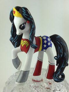 My Little Pony Custom Wonder Woman Pony