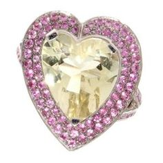 Mauboussin Gemstone Heart Ring