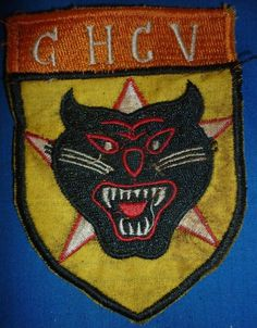 MEKONG DELTA, CHEESECLOTH PATCH - N.319 - TIGER FORCE RANGERS, CHCV, Vietnam War