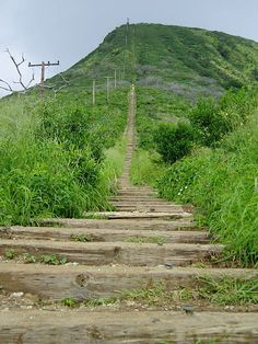 "Koko Head Stairs. Recommended by Dan C.    ""its a hike but the view is nuts"""