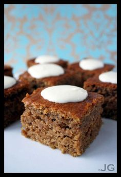 Pumpkin Bars | Just Garnished