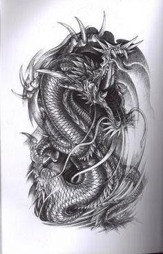 Dragon Tattoo Art