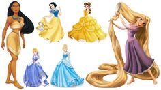 PNG Download: Pacote com 22 Imagens de Princesas Disney no formato PNG (com fundo transparente) em alta definição