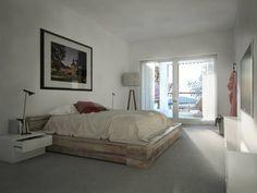American Beauty: Camera da letto in stile in stile Moderno di Memento Architects