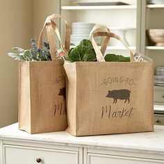 Market Bags- Reuse and Recycle