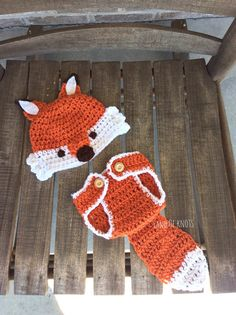 Hey, I found this really awesome Etsy listing at https://www.etsy.com/ca/listing/242722915/crochet-fox-newborn-outfit-crochet-fox