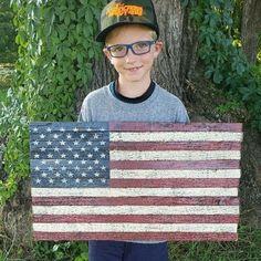 www.rusticamericacountry.etsy.com - Google Search Rustic Wooden American Flag, American Flag Pallet, American Flag Wall Art, North Carolina Flag, Broom Hanger, Picnic Blanket, Outdoor Blanket, Pallet Flag, Wood Name Sign