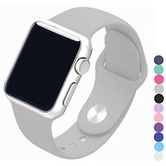 Piwjo Silicone Apple Watch Band and Replacement Iwatch Ba...
