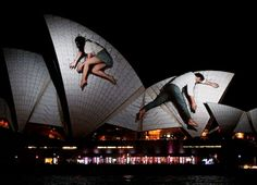 Watch the Sydney Opera House transform before your eyes; it's breathtaking | #Nordstrom