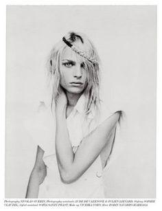 Andrej | Andrej Pejic | Nicolas Guerin #photography | Vestal Magazine 10 July 2012