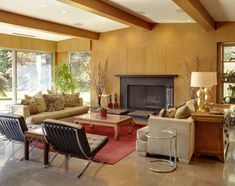 10 Absolutely Gorgeous Midcentury Living Rooms