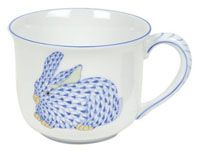 Baby Porcelain Cup with Blue Bunny by Herend, $130.00