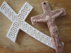 A collection of crosses to mix into a gallery wall of photos and other media Best gifts gift guide - Wendy James Designs
