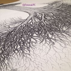 """""""Don't be satisfied with stories, how things have gone with others. Unfold your own myth."""" - Jalaluddin Rumi, The Essential Rumi #yourstory #rumi #inspire #quote  Tracing lines to roots; living story. #acurrie #creatinglifeart #mylifewithapen #pomonalife #torontoartist"""