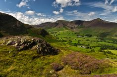 Across Newlands from the slopes of Cat Bells. by Don Dawber on 500px