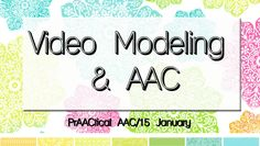 Video modeling is an empirically supported instructional strategy that can help some learners acquire and use a range of new skills. It involves videotaping the expected or desired behavior so that…