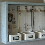 Jewery organizer projects and ideas