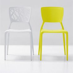 Comprar online Silla Viento apilable en polipropileno estampado. Design by Dondoli e Pocci.