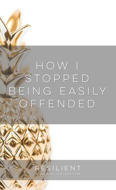 When I was really depressed, I used to get easily offended at just about everything. I (unfortunately) took everything as a personal attack against me, even when it wasn't, and I pretty much thought that people were mean and out to get me in particular. I can say from experience that it's not a fun way to live your life, so I'm glad that one of the things I left behind along with my depression was being offended by everything. Here's how I stopped being easily offended and lightened up a…