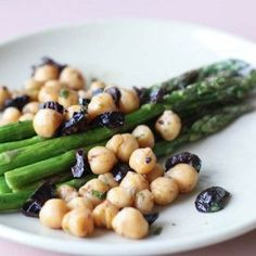 Asparagus, Chickpeas & Olives « Go Bold with Butter