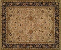 Weavecraft: Shahjahan - Ivory/Black