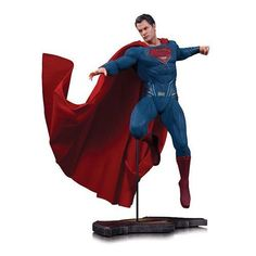 Batman v Superman Dawn of Justice Superman 16 Scale Statue *** More info could be found at the image url.