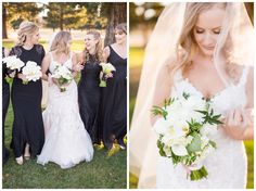 New Years Eve Butte Creek Country Club Wedding bridesmaids and bride