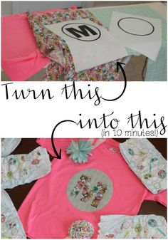 How to make your own iron on transfers with a printer with free diy iron on appliqu monogram t shirt solutioingenieria Choice Image