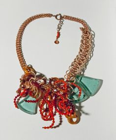 Necklace Variations through my eyes  bold with by SabinAell, $440.00