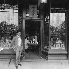 Chinese entrepeneur Quong Tart, pictured in 1891 outside his luncheon grill room at 777 George Street, Sydney #history #sydney . http://fat.ly/gh5z (Instagram Image from @beliefmedia, 7th February 2017 12:49am).