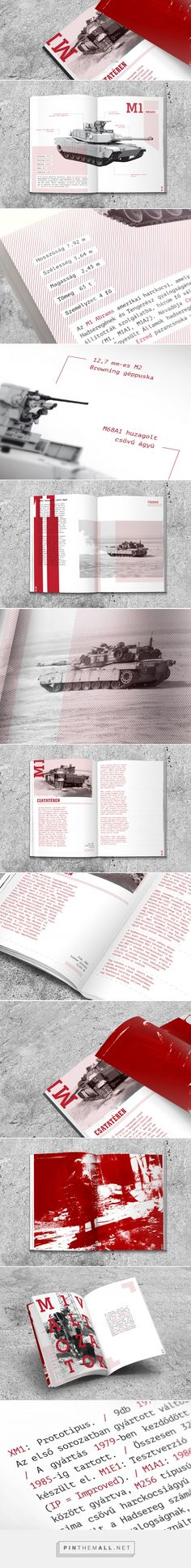 M1A1 Abrams Prospectus on Behance - created via https://pinthemall.net