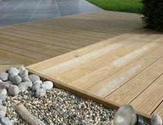 Contemporary Decking #design #style #decking #home #garden #timber