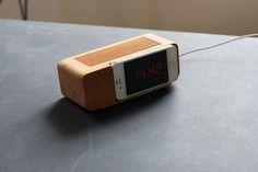 Iphone Alarm Dock - ideal!  www.aprilandthebear.com