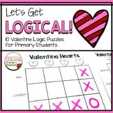 Valentine Logic Puzzles. Great brain teasers to start critical thinking and problem solving in the elementary classroom. Grid puzzles with answer keys.