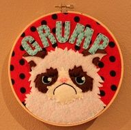 Grumpy Cat Hoop @Sarah Chintomby Kool  @Jordan Bromley Harris