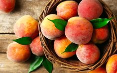 The peach is so common it's easy to take it for granted, but you shouldn't. Because peach nutrition can improve your heart, gut and even fight cancer. Prosciutto, Peach French Toast, Peach Butter, Ripe Peach, Peach Fruit, Juicy Fruit, Butter Recipe, Fruits And Veggies, Vegetables