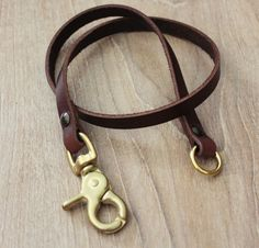 Leather Lanyard Wallet Chain Lanyard by Monkeychain196 on Etsy, ฿1350.00