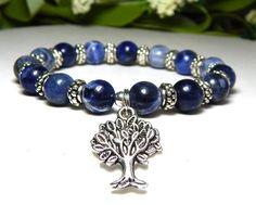 Blue Sodalite Gemstone Bracelet
