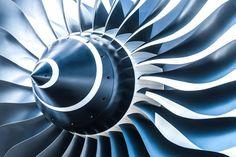 Aircraft Engines - Banco de fotos e imágenes de stock - iStock Aircraft Parts, Aircraft Engine, Motor Jet, Turbofan Engine, Large Canvas Prints, Jet Engine, Private Jet, Blue Tones, Triptych