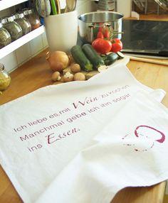 Spruch für die Küche